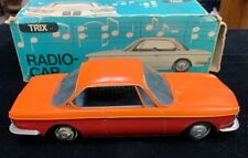 TRIX BMW 2000CS RADIO CAR 1967 WESTERN GERMANY TWO TONE W/BOX WORKS!