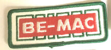 BE MAC Transportation driver patch 2 X 4-3/4 #4106