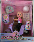 Vintage Zip'n Zoom Shannen Doll Scooter Mattel TYCO RC 49 MHz New Open Box