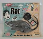 """Vintage Westminster Radio Controlled 12'' Rat 2001 Sealed """"The Rotten Rodent""""."""