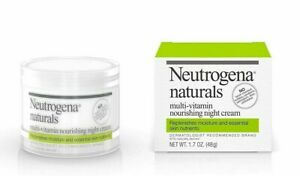 Neutrogena Naturals Multi-Vitamin Nourishing Night Face Cream 48g