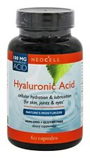 Neocell Hyaluronic Acid Nature's Moisturizer 60 Capsules