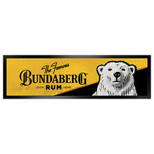 "*NEW 2017* Bundy Bundaberg Rum Bar Runner Mat Man Cave Gift ""THE FAMOUS"" BUN4711"