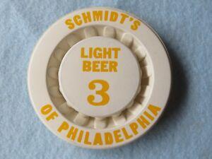 Beer Keg Cap ~*~ SCHMIDT'S Lite; Philadelphia, PENNSYLVANIA ~ Quality Since 1860