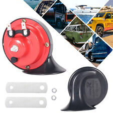 12V Car Air Horn Snail Loud Blast Truck Train Boat Camper Tractor Van Bus SUV UK
