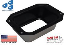 2x3 or 3x4 Aluminum Rectangular flat bottom Gutter Drop Outlet(s)