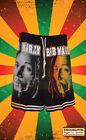 Bob Marley le temps dira Homme en Coton Noir Shorts nouveau officiel Rasta Reggae