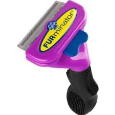 FURminator Undercoat deShedding Tool for Medium to Large Cats Short Hair 9169