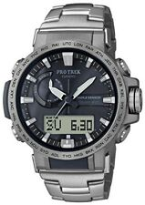 CASIO Watch PROTREK climber line electromagnetic wave solar PRW-60T-7AJF Men's
