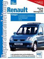 RENAULT KANGOO Reparaturanleitung Reparaturbuch Jetzt helfe ich mir selbst Buch