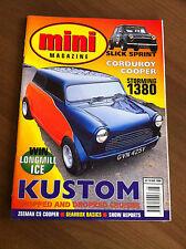 Mini Magazine August 1998 CS Zeemax, 1380cc, Monte, Roof chopped, Estate