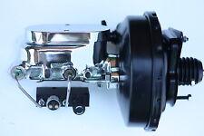 1967-70 Mustang Power brake booster Chrome master cylinder combo valve