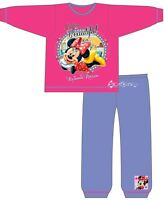 Girls Disney Minnie Mouse Snuggle Fit Cotton Pyjamas Ages 1-4 Years