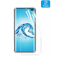 Samsung Galaxy S10 Plus(2019)HD Clear Screen Protector Case-Friendly S10+ 2Pack