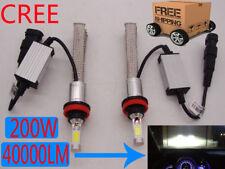 200W 40000LM CREE LED Headlight Kit H4 H7 H11 H1 9005 9006 White Light Bulb Lamp