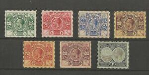 Bermuda GV 1920/1 mint cat £95