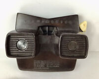 VIEW-MASTER  VINTAGE SAWYERS 3-D  BAKELITE BROWN VIEW-MASTER. COLLECTIBLE/ RARE