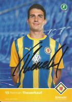 Norman Theuerkauf - Eintracht Braunschweig - Saison 2010/2011 - Autogrammkarte