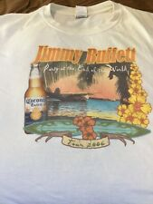 Jimmy Buffet 2006 Party At The End Of The World Tour Concert Shirt Size Xl