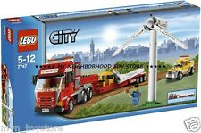 RETIRED PRONTA CONSEGNA - LEGO 7747 CITY WIND TURBINE TRANSPORT (no 4999 VESTAS)