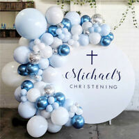 Macaron Chrome Balloon Arch Garland Kit Wedding Baby Shower Birthday Party Decor