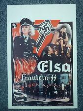 ELSA Fräulein Captive Women Original 1977 Belgian Movie Poster Malisa Longo
