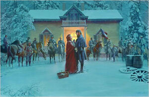 Mort Kunstler Until We Meet Again Limited Edition Civil War Print  S/N