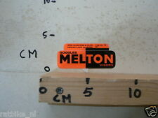 STICKER,DECAL MELTON GOGGLES VISORS WINDSCREENS FAIRINGS MOTO ? A