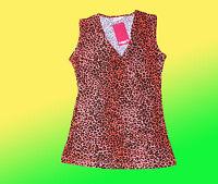 modernes Damenshirt- gerafftes Stretchshirt- T.-Shirt- Tunika Gr. XS/ S NEU