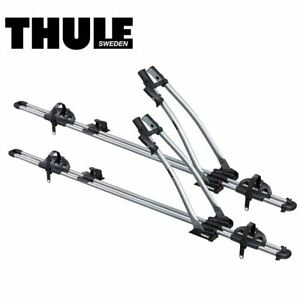 Thule Freeride 532 Roof Rack Top Mount Bike Stand Holder Carrier  Two 1746077