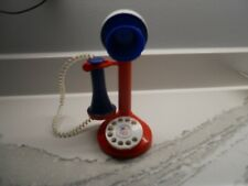 Vintage Children's Toy Telephone 1970's Kid's Antique Rotary Dial Toys Phones