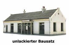 """Artitec 10.330 - 1:87: Bahnhof """"Maartensdijk"""", Bausatz, unlackiert - NEU + OVP"""