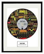 GUNS N' ROSES - MEMORABILIA - Framed Art Poster Print - Limited Edition