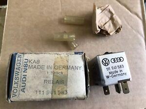 PORSCHE 924 VW SIROCCO 1975 1976 1977 1978 1980 Headlight Dimmer Relay N.O.S