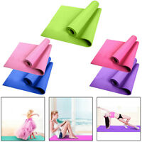 6MM Thick Durable PVC Yoga Mat Non-slip Exercise Fitness Pad Mat Lose Weight Mat