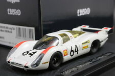 EBBRO 43740 1:43 Porsche 908 Long Tail Le Mans 1969 No.64 Die Cast No MiniChamps