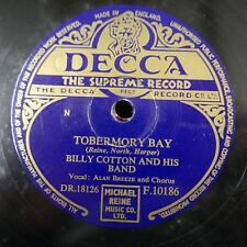 78rpm BILLY COTTON BAND tobermory bay / be mine