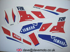 YAMAHA FZR1000EXUP 1989-90 MODEL YEAR STICKER KIT DECAL KIT  RED/WHITE/BLUE