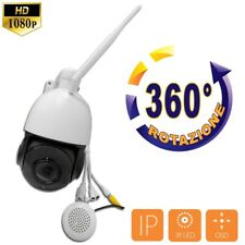 Telecamera Speed Dome PTZ IP 5 Megapixel Audio Wifi