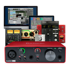 More details for focusrite scarlett solo 3rd gen usb audio interface + ableton, pro tools & more