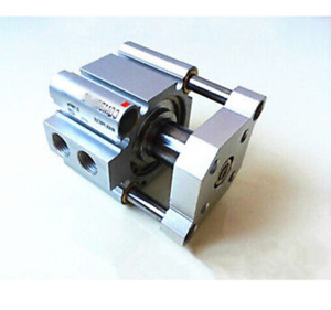 1Pc CQMB16-20 Pneumatic Guide Rod Double Acting Compact AIR Cylinder SMC Type