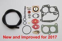 VW T25 T3 Carburettor Rebuild Kit Pierburg 2E3 2E2 Repair Service Gasket A10/11