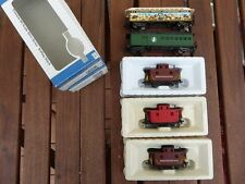 Rivarossi, Bachmann, etc. in Set 5 x US Transport of Goods and Passenger Car USA
