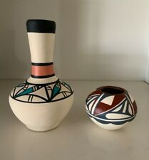 Native American pottery RN TOYA Jemez Pueblo KOPA DT OR 126 lot Small vase pot