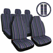 10pcs Car Seat Covers Full Set Universal Baja Style Seat Covers For Cars