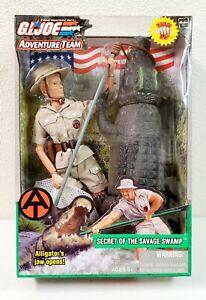 """2003 GI Joe Adventure Team 12"""" Action Figure Secret of the Savage Swamp Female"""