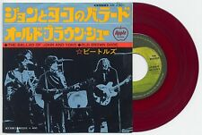 "The Beatles - The Ballad Of John And Yoko AR/400 7"" JAPAN RED VINYL 45"