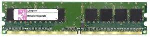 2GB Kit (2x1GB) Kingston DDR2-800 PC2-6400U Non-Reg ECC RAM KVR800D2E5K2/2G