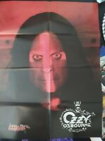 OZZY OSBOURNE / METALLICA Master of Puppets Double Side Poster Heavy Metal
