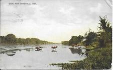 Scene near Estherville IA nice postcard postally used in 1909?